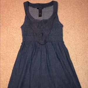 Calvin Klein Denim Jean Dress Women's Size Large